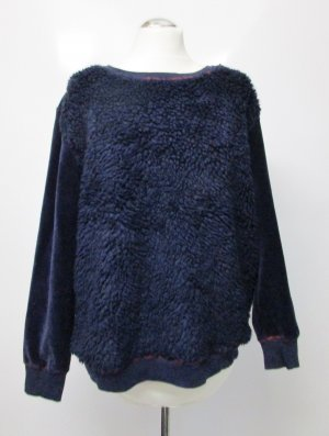 BC Crewneck Sweater dark blue-blue mixture fibre