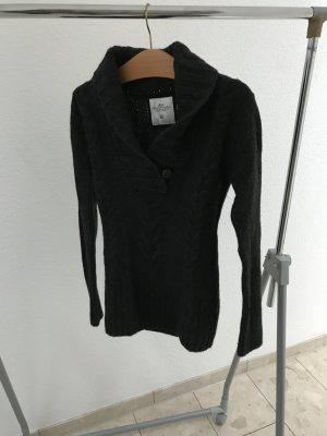 H&M Maglione di lana nero Lana