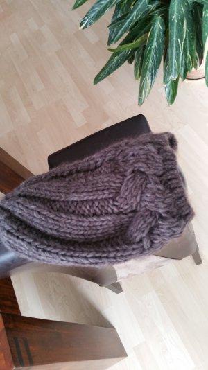 Dicker Wollbeanie für kalte Tage