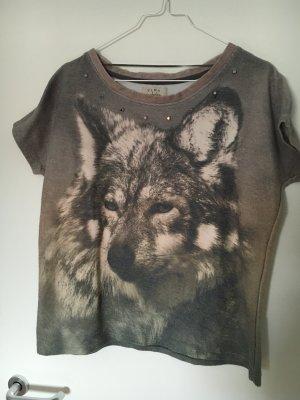 Dickes top mit wolfsprint