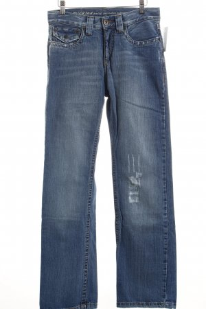 Dickies Boot Cut Jeans blau Street-Fashion-Look