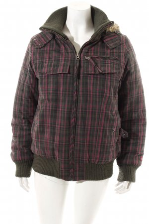 Dickies Winterjacke Karomuster Casual-Look