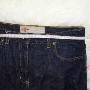 Dickies workerwear dunkelblauer jeansrock in gr. s