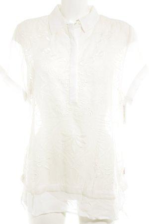 DIDI pretty different Kurzarm-Bluse creme Elegant