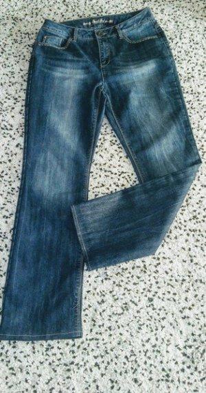 Street One Boyfriend jeans blauw-donkerblauw Katoen