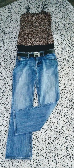 Street One Jeans boyfriend multicolore Cotone