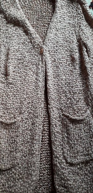 Luisa Cerano Knitted Coat nude cotton