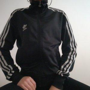 Adidas Jacke neu Seiden Stoff in 38