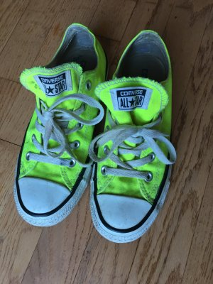 Converse Slip-on Sneakers meadow green-yellow