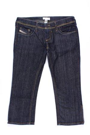 Diesel 3/4 Jeans blau Größe W27