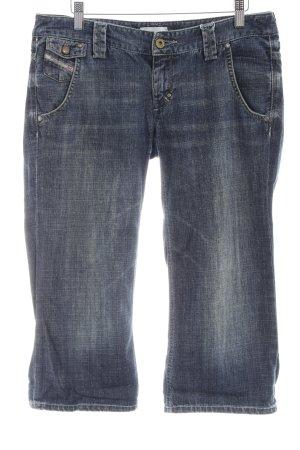 Diesel 3/4 Jeans dunkelblau Casual-Look