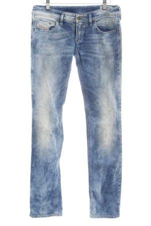 Diesel Jeans a 7/8 blu pallido stile jeans