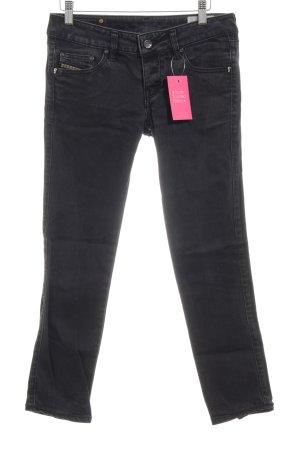 """Diesel 7/8 Jeans """"Cuddy"""" schwarz"""