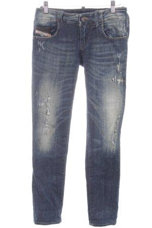 Diesel 7/8 Jeans dunkelblau Casual-Look