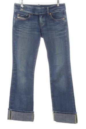 Diesel Jeans a 7/8 blu scuro stile casual