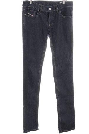 Diesel Jeans a 7/8 blu scuro stile jeans