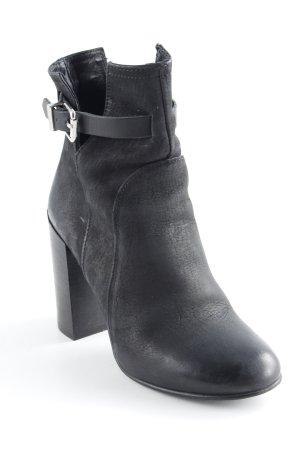 Diesel Ankle Boots schwarz Casual-Look