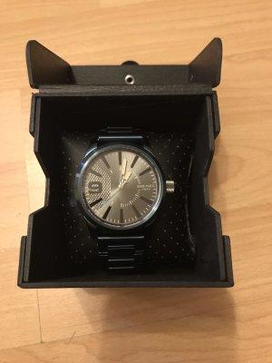 Diesel Reloj con pulsera metálica azul acero-azul