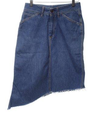 Diesel Asymmetry Skirt blue casual look