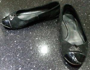 Diesel Ballerina 38 schwarz Leder
