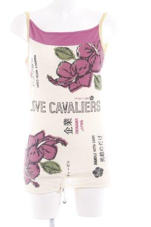 Diesel Haut bandeau motif floral style décontracté