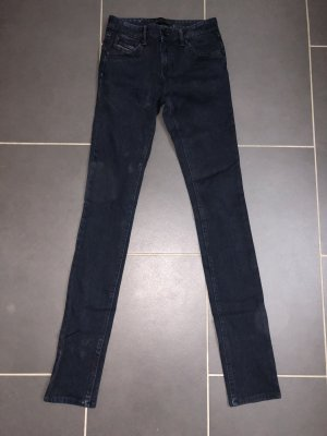 Diesel Black and Gold Jeans Gr. 27 dunkelblau