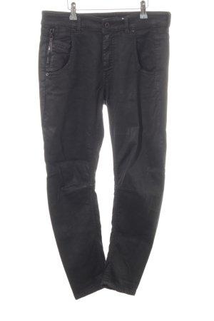 Diesel Black Gold High Waist Jeans schwarz Casual-Look