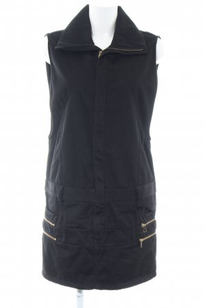 Diesel Black Gold Jeanskleid schwarz Casual-Look
