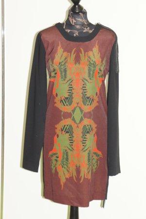 DIESEL black gold Kleid Größe 36/38 it. 44 NEU NP 329 €