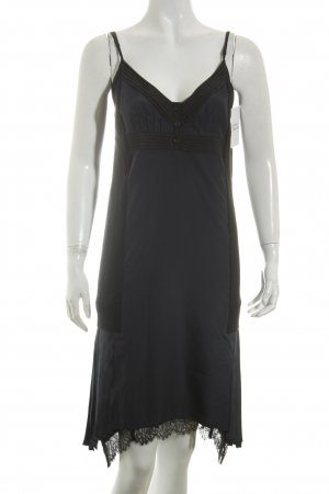 Diesel Black Gold Kleid schwarz-dunkelblau Elegant