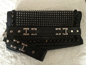 Diesel Black & Gold Nieten Clutch