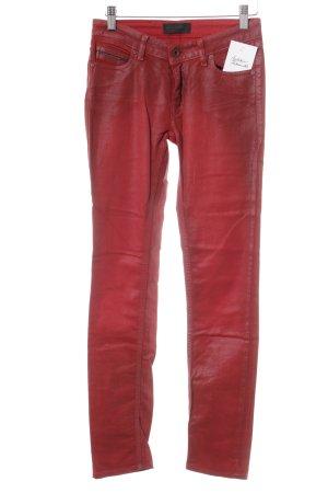 Diesel Black Gold Skinny Jeans rot Rockabilly-Look
