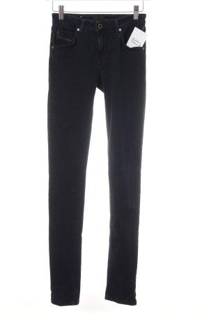 Diesel Black Gold Skinny Jeans schwarz-dunkelblau Jeans-Optik