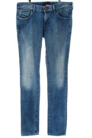 Diesel Black Gold Slim Jeans blau Casual-Look