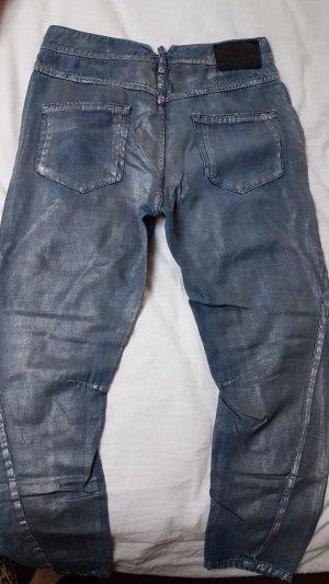 Diesel Black Gold Baggy Jeans cornflower blue-light grey lyocell