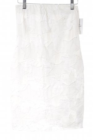 Diesel Pencil Skirt natural white star pattern casual look
