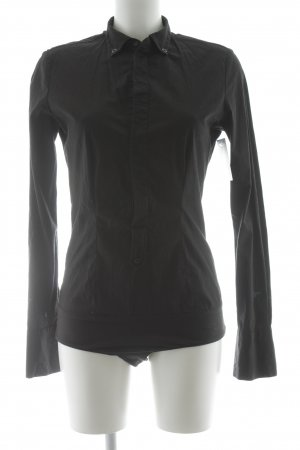 Diesel Blusa tipo body negro estilo «business»