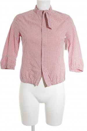 Diesel Blouse Jacket red-white check pattern street-fashion look