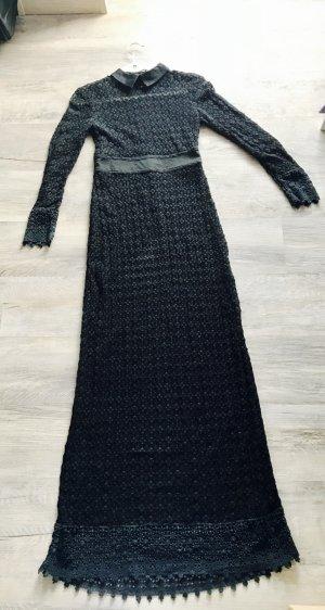 Diesel Bodenlanges Kleid schwarz gehäkelt/spitze Gr.S