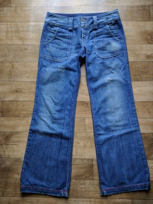 Diesel Jeans marlene blu acciaio Cotone