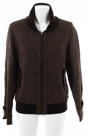 Diesel Bomber Jacket weave pattern casual look