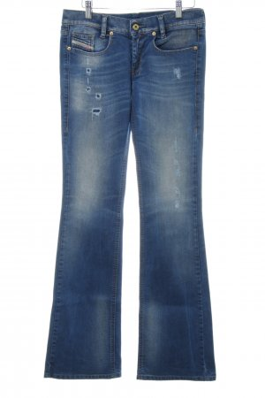 "Diesel Boot Cut Jeans ""Lowboot slim-Bootcut Low Waist"" neonblau"