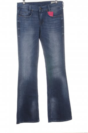 Diesel Boot Cut Jeans neonblau Casual-Look