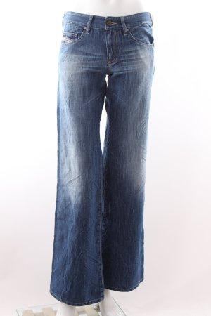 Diesel Jeans bootcut bleu acier coton