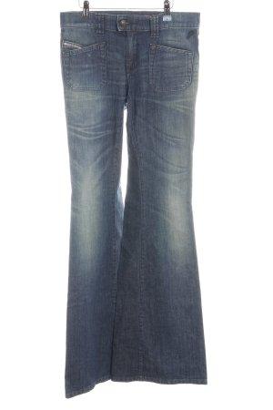 Diesel Jeans bootcut bleu foncé style des années 70
