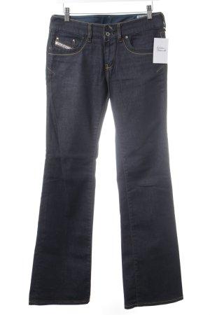 Diesel Boot Cut Jeans dark blue casual look