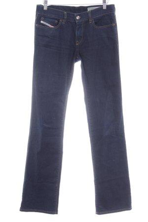 Diesel Boot Cut Jeans dunkelblau Casual-Look