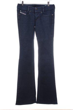Diesel Boot Cut Jeans dunkelblau klassischer Stil