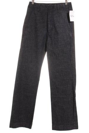 Diesel Boot Cut Jeans dunkelblau meliert Casual-Look