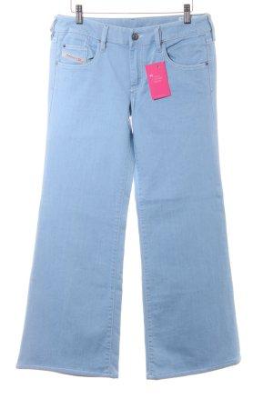 Diesel Boot Cut Jeans himmelblau Casual-Look